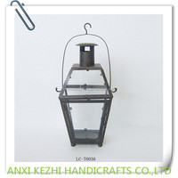iron hanging tealight lantern