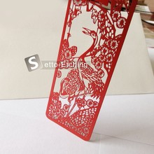 High end metal decorative bookmarks for home