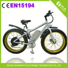EN15194 snow 4.0 fat tire e bike bicycle