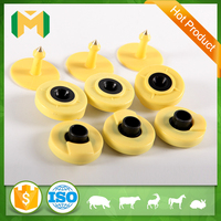 active price icar animal cattle cheap uhf rfid ear tag for animal management tracking