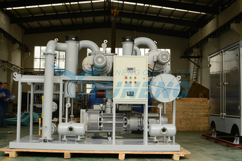 High Efficiency Vacuum Turbine Oil Filtration System