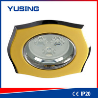 Market of electronic LED gu10 downlight cover zinc 44 ceiling fan with light low profile