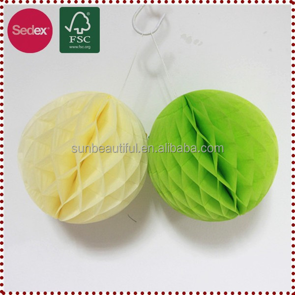 Tissue Paper Honeycomb Ball Hanging Everything as Wholesale Craft Supplies