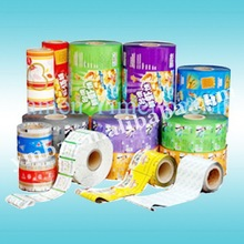 Food manufacture machine automatic packaging plastic roll film