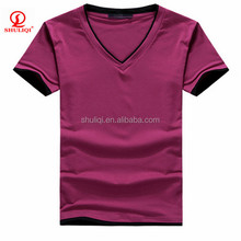 High quality 65 polyester 35 cotton t shirt from china