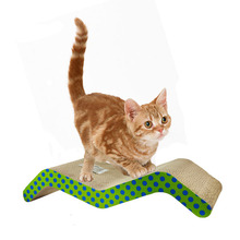 Recycled Cat Bed Cardboard Scratcher Pad Mat Wholesales Products