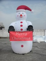 Most popular Christmas decoration snowman,advertising air balloon C6033