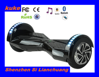 8 inch safe charger 2 wheel electric standing scooter Cross-country vehicle scooter motor smart Electric chariot with bluetooth