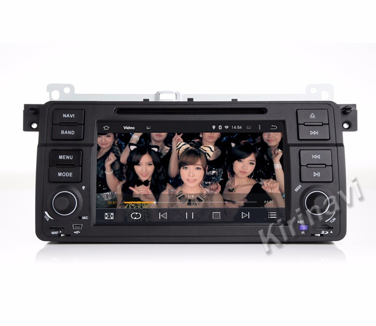 Kirinavi WC-BW7019 android 5.1 car dvd player with gps for BMW E46 M3 Rover 75 MG ZT 1998-2005 radio navigation multimedia
