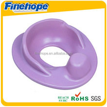 bathroom purple kids cushion toilet seat