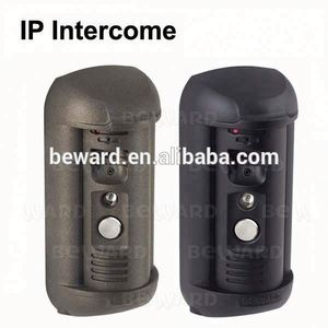 Villa IP Video Door Bell, Waterproof Intercom Camera Wireless Color Video Door Monitor With Intercom System