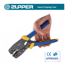 Zupper T-007 Ratchet Crimper Pliers Cable Lug Crimping Tools