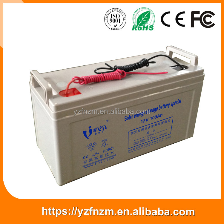 Most popular products china 150 ah gel 12v solar battery manufacturers