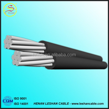aluminum Conductor PVC Insulated ABC Electric Cables