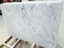 italian polished white carrara white marble