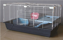 Plastic Home Sweet Home Small Pet Cage, Rabbit cage 464