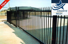 fine quality D profile palisade fencing manufacture
