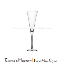 Wholesale Unique Lead-free Crystal Stemware Wedding Coupe Champagne Glasses