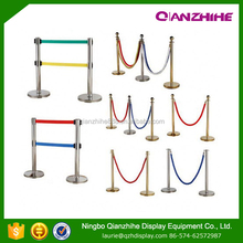 rope queue barrier pole stand pole barriers