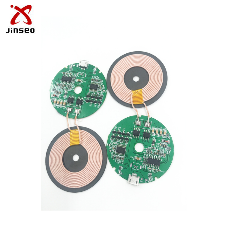 Pcb board qi standard wireless charger receiver module pad