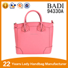 New style large 100% genuine leather handbag large tote bag women for wholesale
