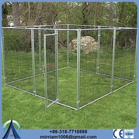 Used Dog Kennels or galvanized comfortable heavy duty dog crates