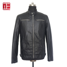Cheap European Fashion Style Leather Jacket Coats For Men