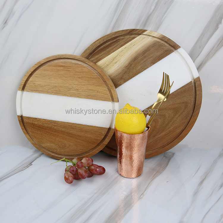 eco-friendly brand new wood cheese cutting board wholesale