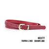 Simple retro popular elegant leather female with high quality belt /male chastity belt/