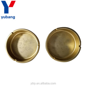 Wholesale Cheap Golden Aluminum Cigar Ashtray Of Bottom Price