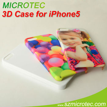 3D Sublimation Phone Cases for iPhone 5 / 3D iPhone 5 sublimation cover