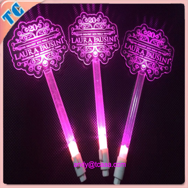 led flashing light stick for concert,TV shows,Promotional activities