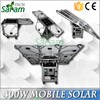 Portable 400w small home solar electricity generation system