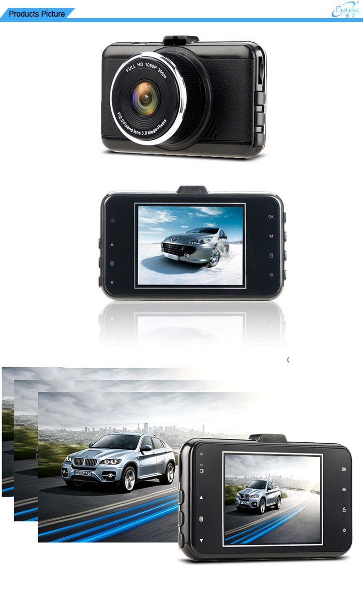 2016 New Private Night Vision 170 Degree HD 1080p Car DVR Camera
