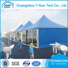 Multifuctional Fire Proof Commercial Event Tents Outdoor Advertising Trade Show Pagoda Tent