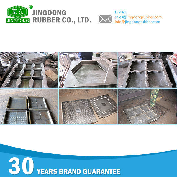 Various rubber tile mould