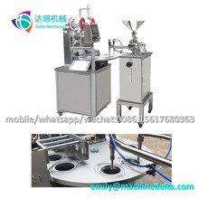 Jelly cup sealing machine/ cup filler/ filling and sealing machine