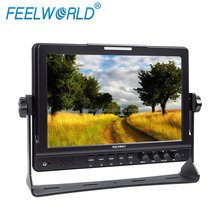 "10.1"" 1080P Portable mini lcd monitor with webcam,Dual 3G/HD-SDI and HDMI,vector scope"