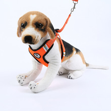 Breathable traction rope nylon pet supply pet dog chest straps outdoors chest back chain factory wholesale