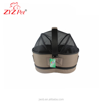 2016 new arrival comfort vehicle pet carrier breathe freely open outdoor pet carrier
