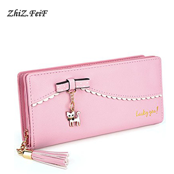 Factory Wholesale Custom Leather Classical Fashion Women Wallet