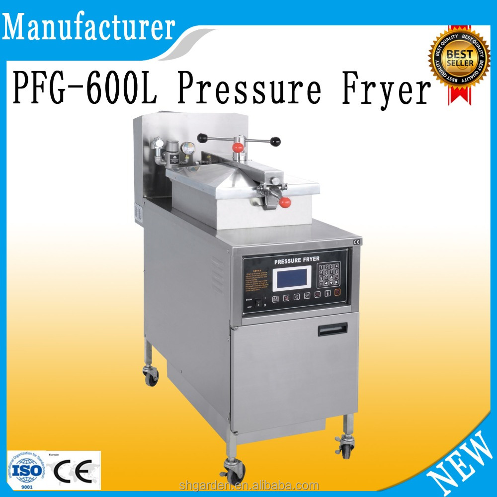 HOT sell PFG-600L lpg gas deep fryer