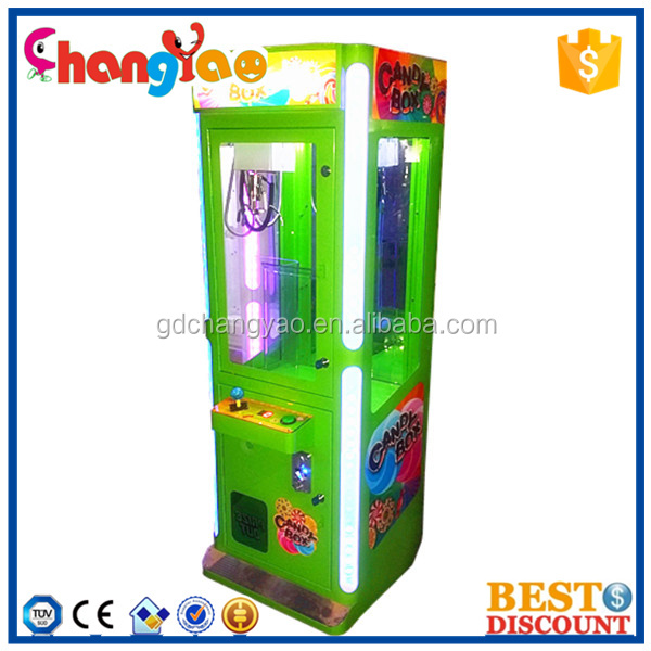 2015 Newest Candy Box Crane Claw Arcade Game Machine Wholesale