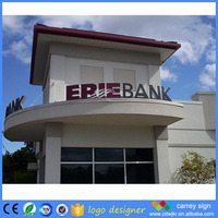 Competitive price decorative large metal letters with lights free standing