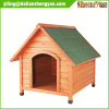 Eco-friendly Carbonized Treated Handmade Wooden Cedar Flat Dog Houses