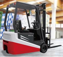Electric forklift in China 2 Ton, 3 stage mast, lift height 4.8 m, cascade side shift