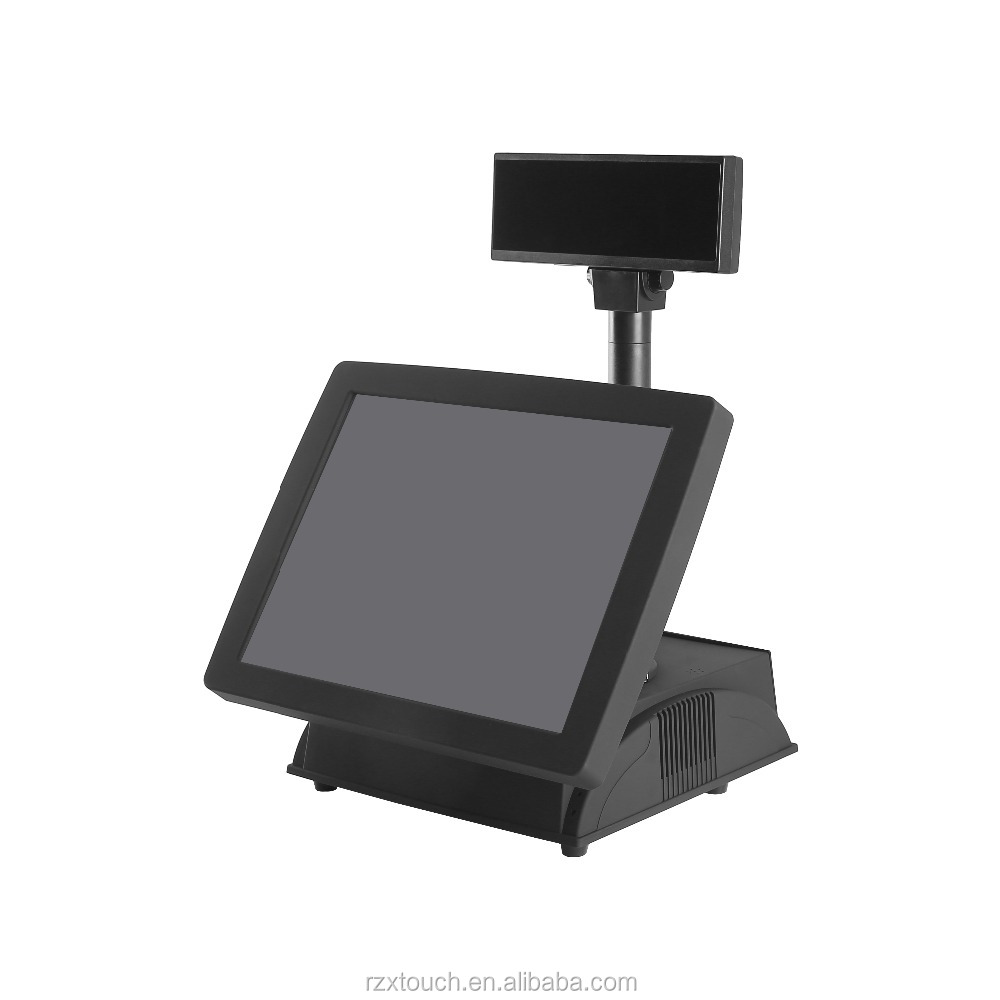 Newest ordering fanless pos terminal all in one touch screen POS terminal price