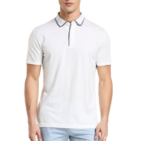 OEM Service Supply Type and Plain Dyed Technics high quility polo shirts for men White Embroidery polo t shirt