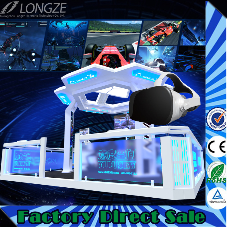 virtual reality equipment 9d theme park games for sale