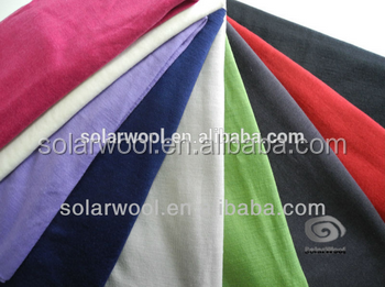New Design for Wholesale Merino Wool Summer Shirt Single Jersey Fabric